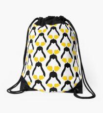 Linux tux penguin symbol Drawstring Bag