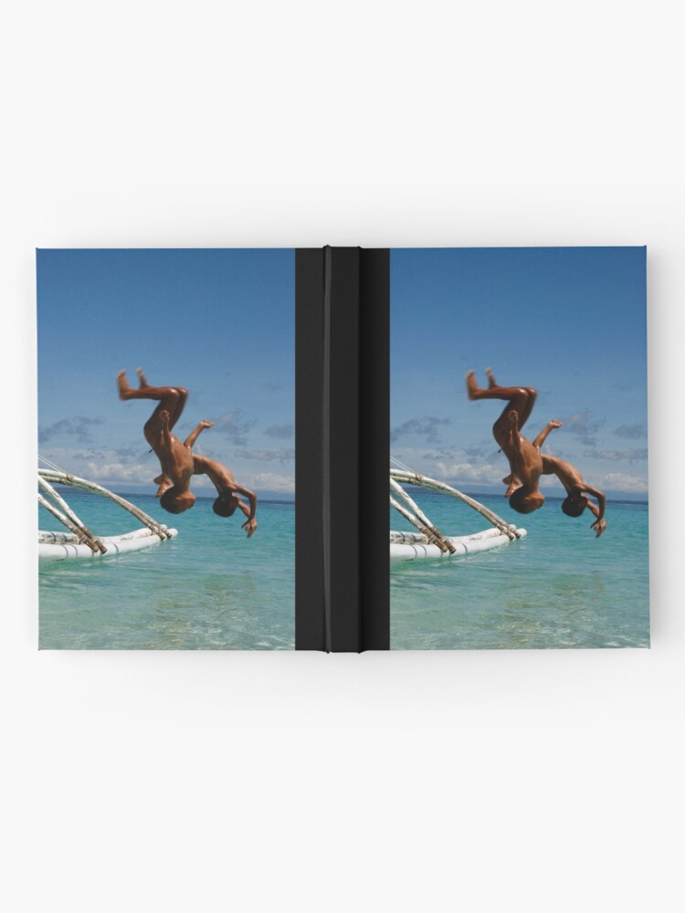 Alternate view of dive Hardcover Journal