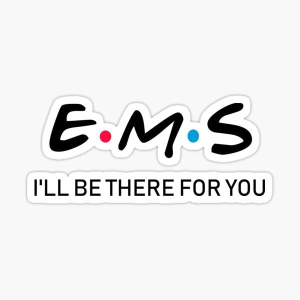 Funny EMS Emergency Medical Services shirt Sticker