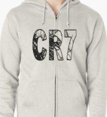 Sudadera con capucha y cremallera CR7 Cristiano Ronaldo 7