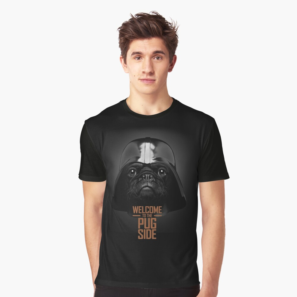 The Pug Side T-Shirt Graphic T-Shirt