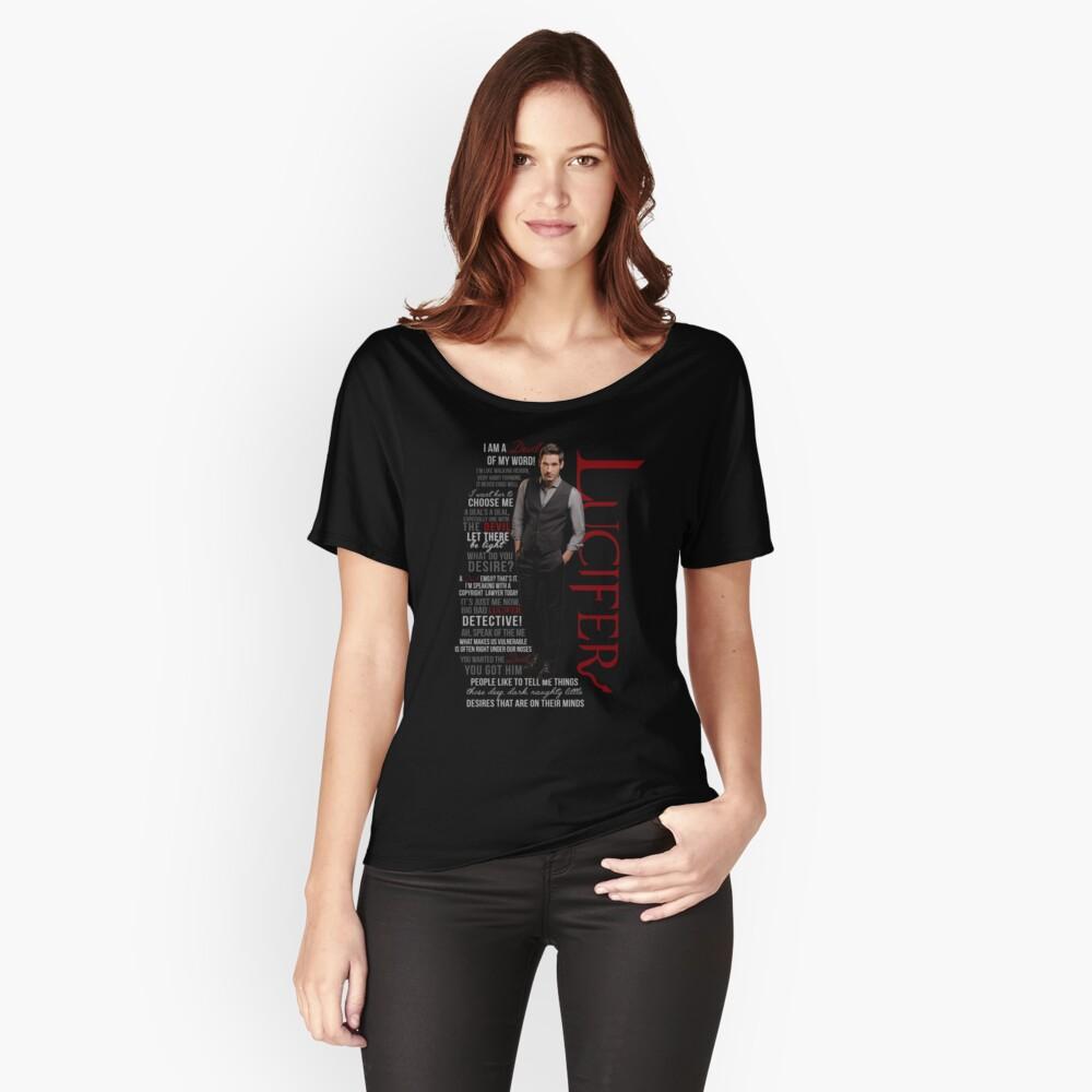 Citas de Lucifer Morningstar Camiseta ancha