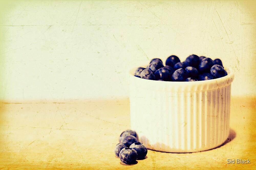Blueberries by Sid Black