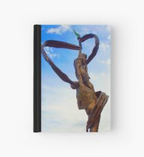 """""""Ah, but a man's reach should exceed his grasp, or what's a heaven for?"""" Hardcover Journal"""