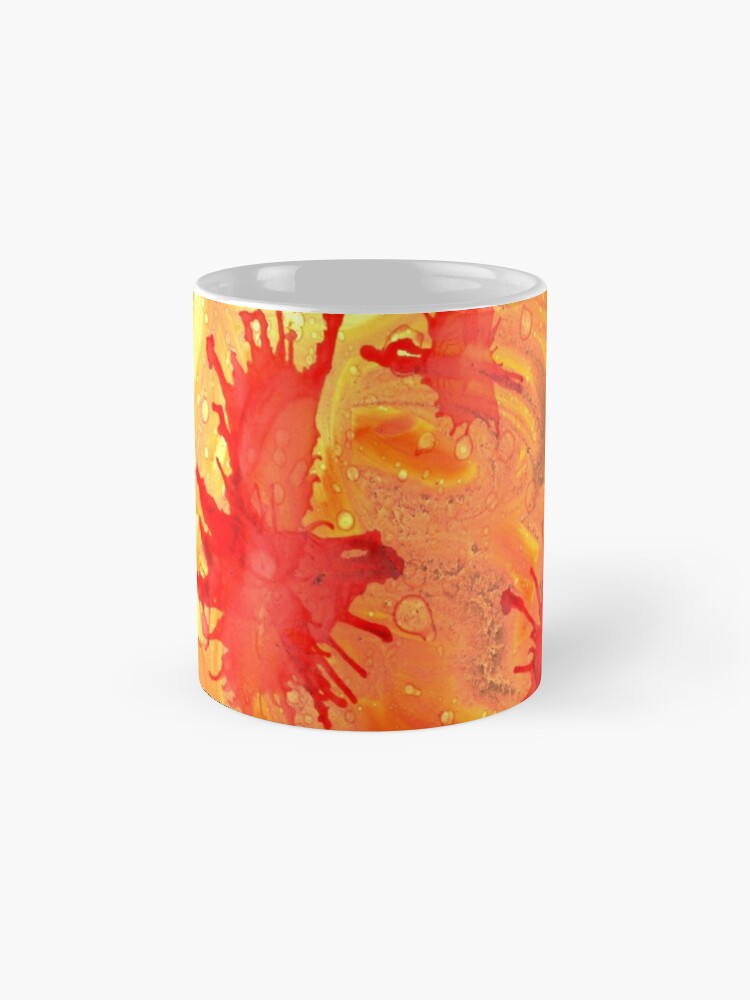 Alternate view of Topographic Infection Mug