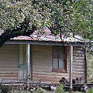 Shack - Hanging Rock, Nundle NSW Australia by Bev Woodman