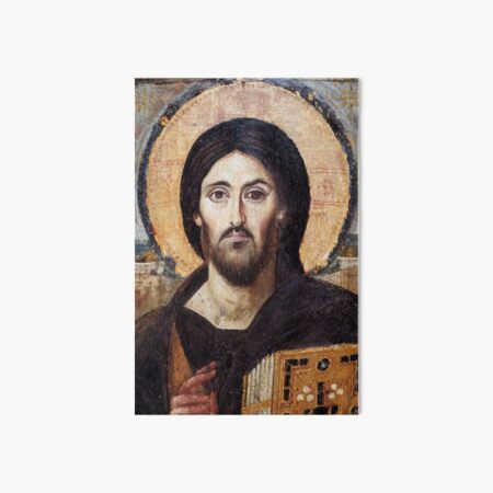 The Christ Pantocrator of St. Catherine's Monastery at Sinai Art Board Print