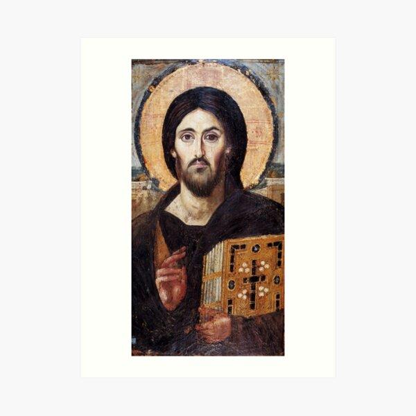The Christ Pantocrator of St. Catherine's Monastery at Sinai Art Print