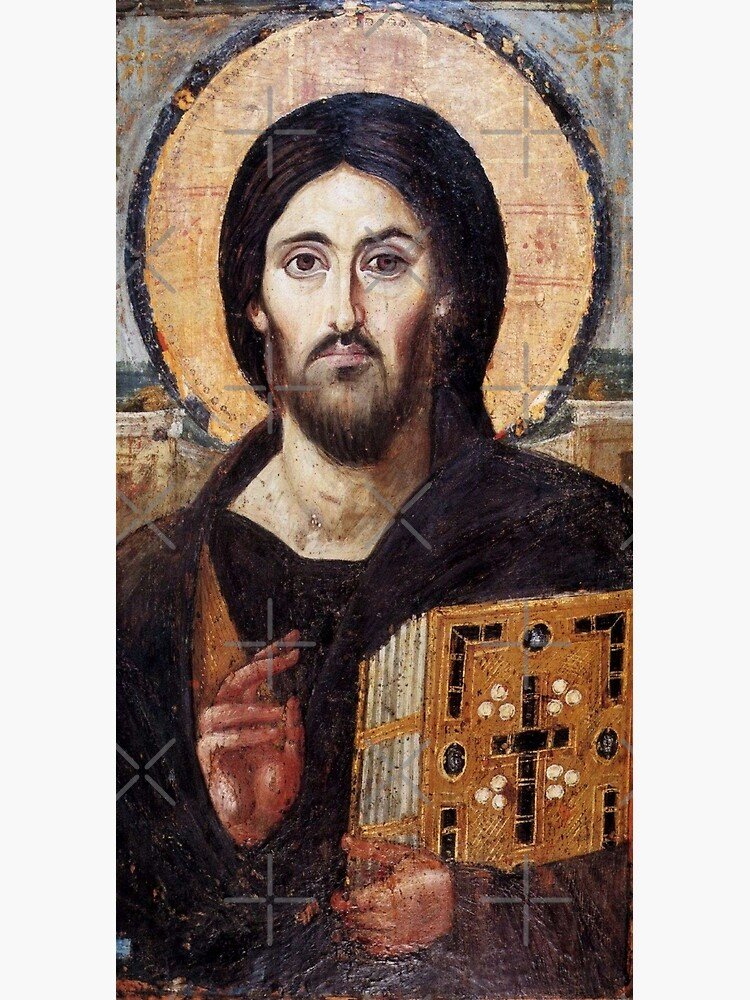The Christ Pantocrator of St. Catherine's Monastery at Sinai by koo17leon