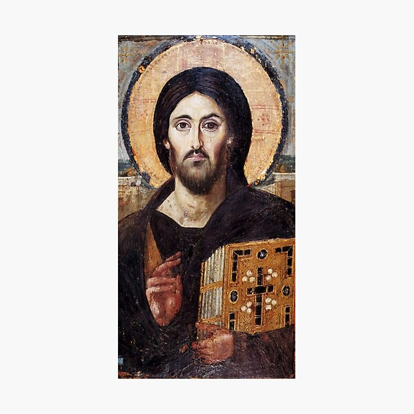 The Christ Pantocrator of St. Catherine's Monastery at Sinai Photographic Print