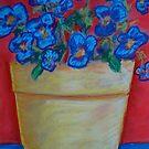 The Yellow Flowerpot by Marita McVeigh