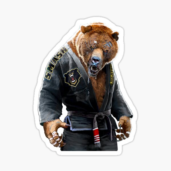 Grizzly Jiu Jitsu  Sticker