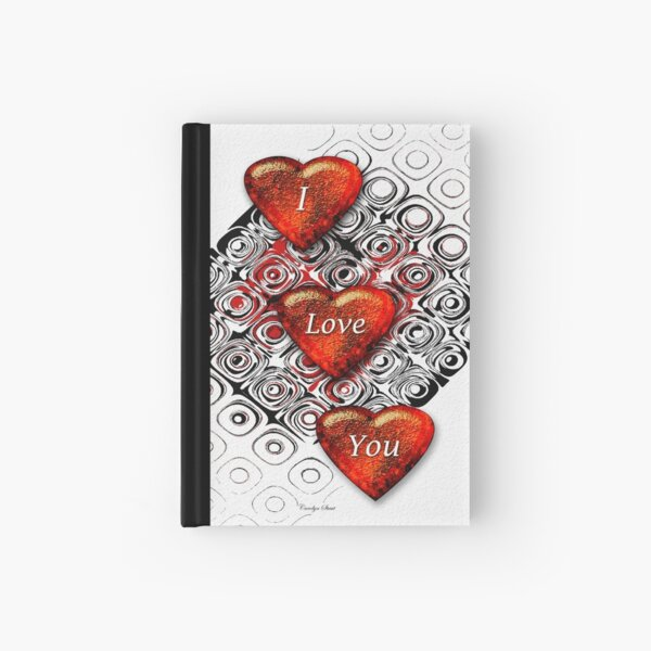 For My Valentine Hardcover Journal