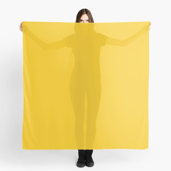 Ochre Yellow Scarf