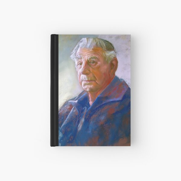 Portrait of Con Conning Hardcover Journal