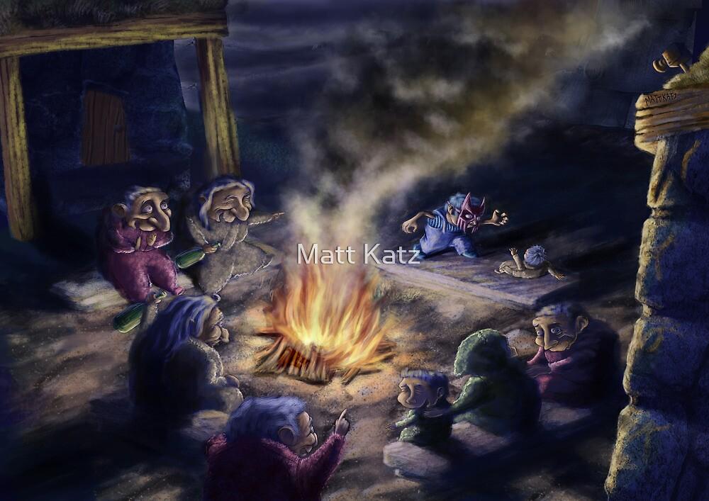 Harry's Campire by Matt Katz
