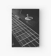 Cuaderno de tapa dura Guitarra Les Paul con carbón blanco