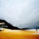 Lifesaver Stand Mooloolaba Beach by Melinda Kerr