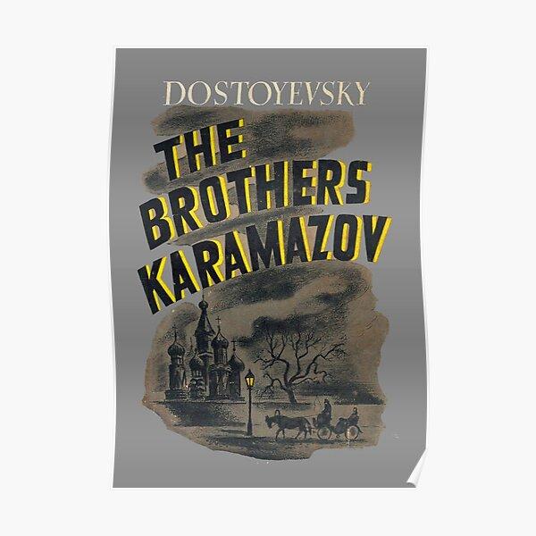DOSTOYEVSKY The Brothers Karamazov ❤ typography book quote poster art print #39