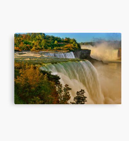 Sunrise Over Niagara - Niagara Falls Canvas Print