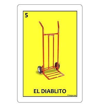 Tarjeta de El Diablito - The Little Devil Card by xulyer