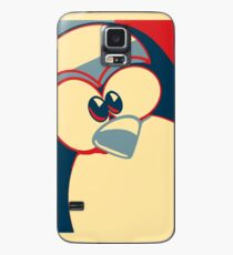 Linux Tux Obama poster red blue  Case/Skin for Samsung Galaxy