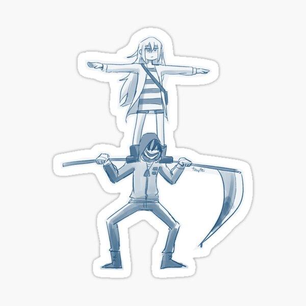 establishing dominance Sticker