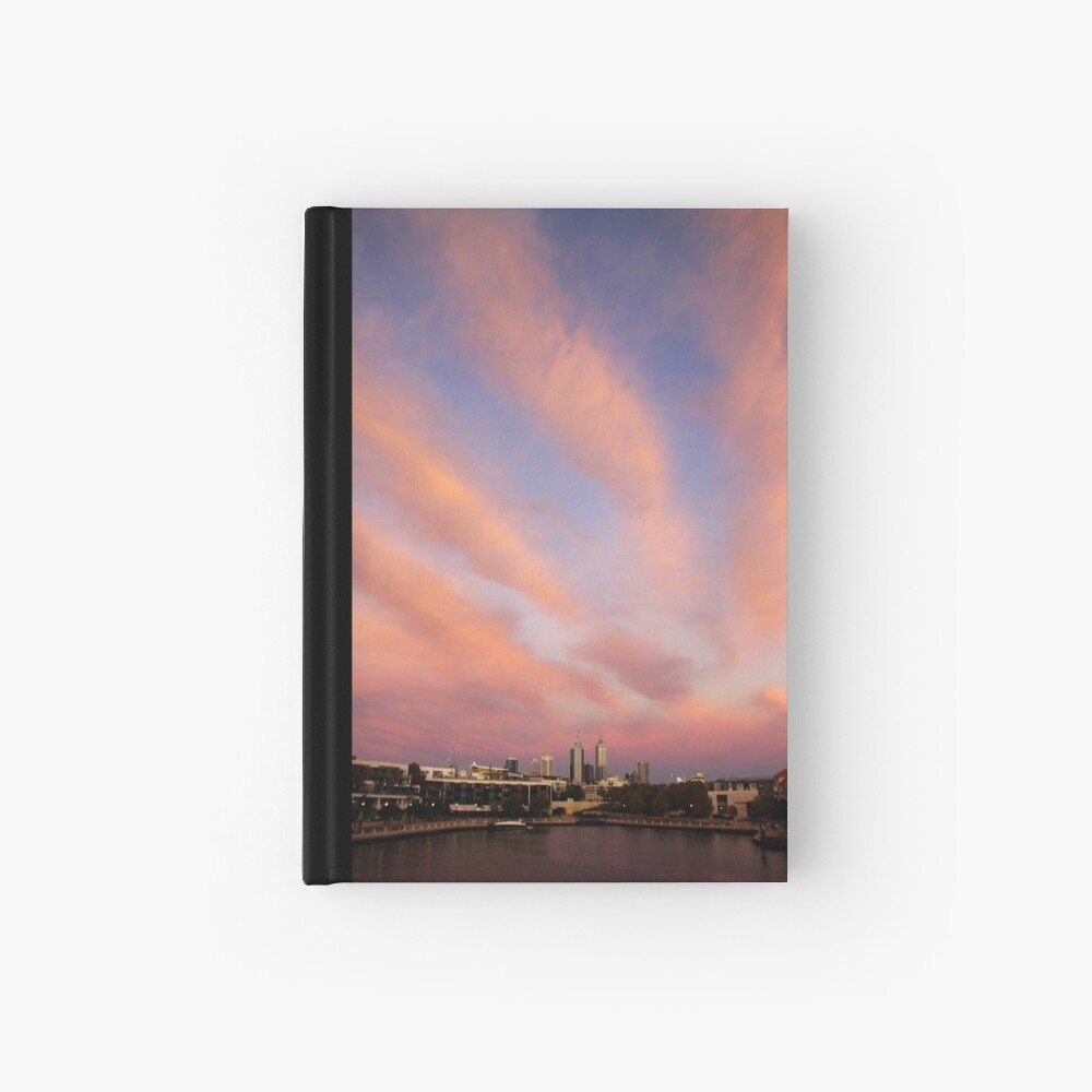Perth City Skyscape Hardcover Journal