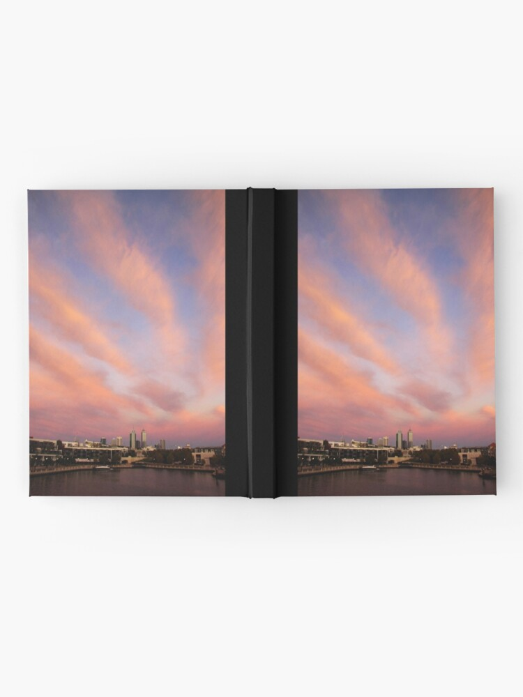Alternate view of Perth City Skyscape Hardcover Journal