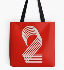 Two (numbers & stripes) Tote Bag