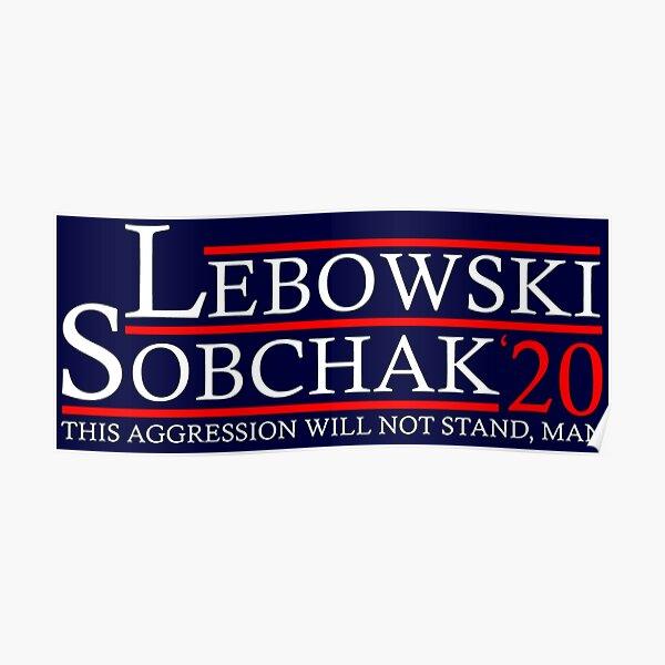 Lebowski for '20 Poster