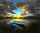 the still - waterscapes - sky - (ED01) by Elisabeth Dubois