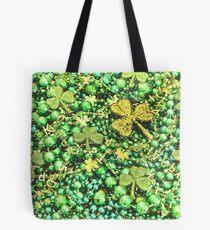Irische St Patrick Tagesgrüne irische Perlen Tote Bag