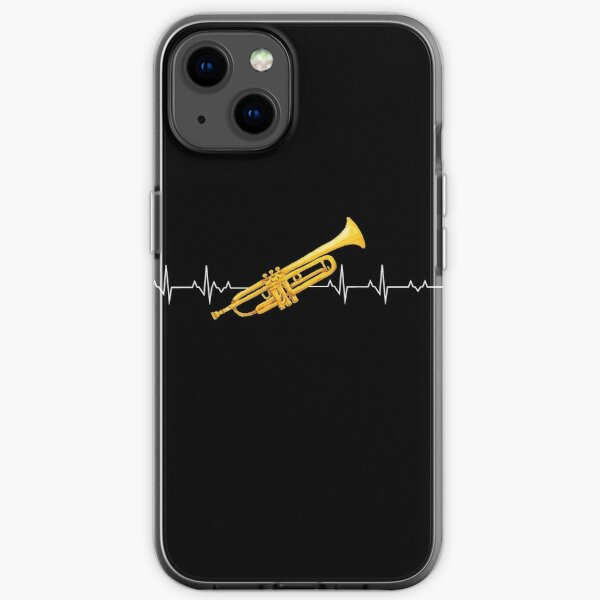 Trumpet heartbeat - trumpet saying iPhone Soft Case