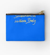 Somewhere in northern Italy CMBYN Studio Pouch
