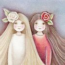 snow white and rose red  by trudette
