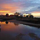 Low tide, low light. by Paul Pasco