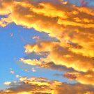Orange Clouds by marinar