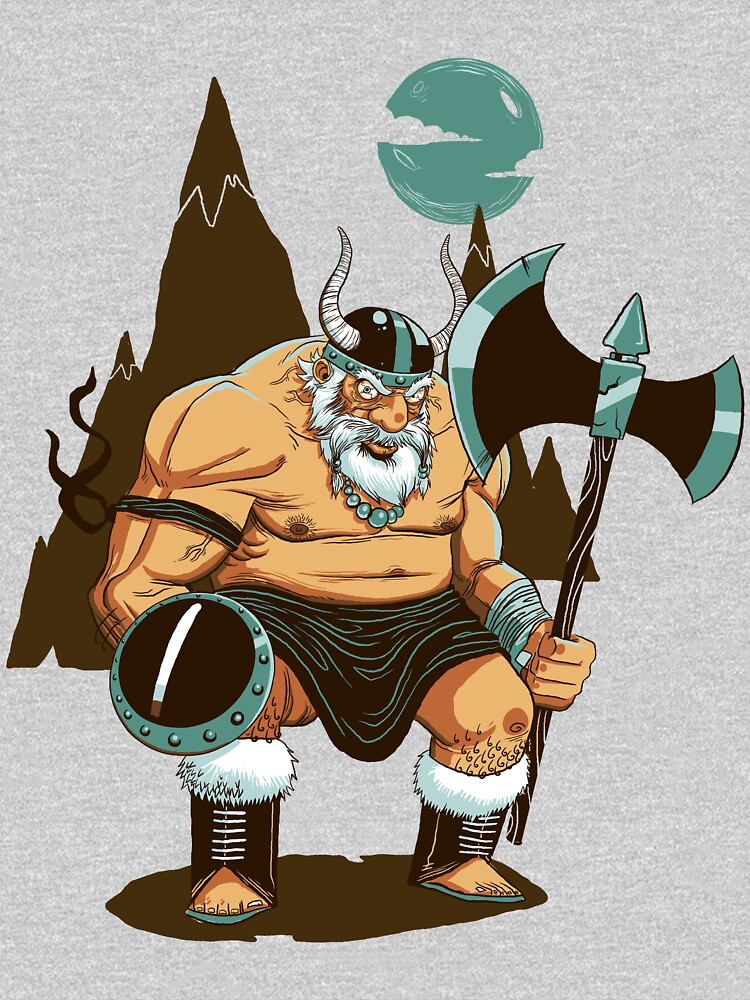The Angry Axe Man | V-Neck
