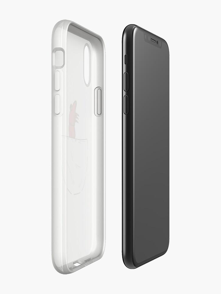 Alternative Ansicht von Der Shrimp in der Tasche iPhone-Hülle & Cover