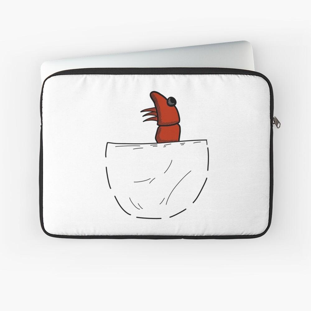 Der Shrimp in der Tasche Laptoptasche