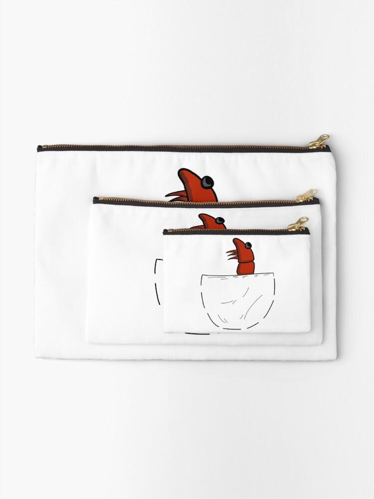 Alternative Ansicht von Der Shrimp in der Tasche Täschchen