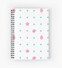 falling floral Spiral Notebook