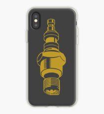 Spark Plug Petrolhead Motorhead design iPhone Case