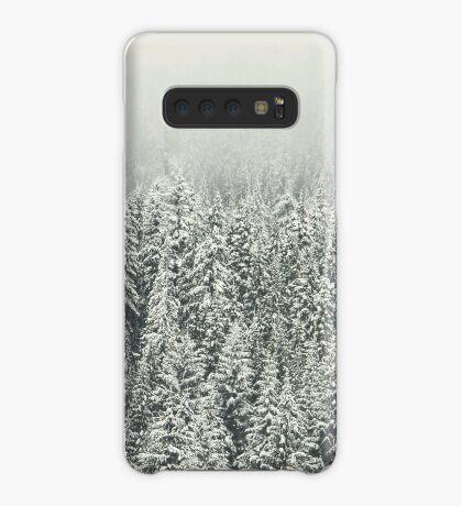 Bosque nevado Funda/vinilo para Samsung Galaxy