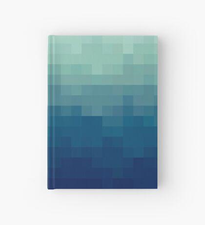 Azul degradado Cuaderno de tapa dura