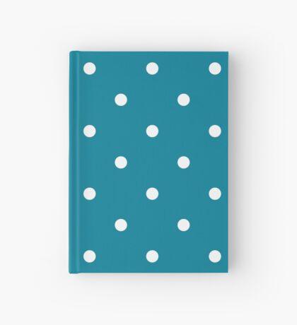 Lunares - Azul Cuaderno de tapa dura