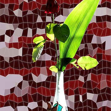 Rose still life 3 by cuprum