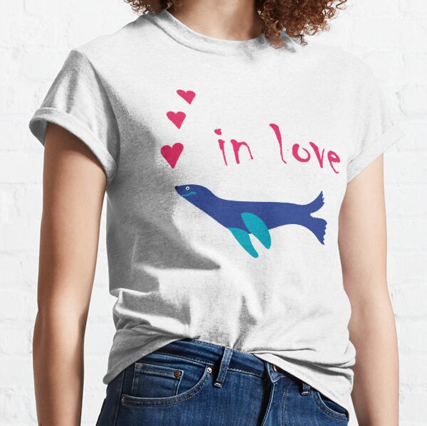 Robbe - in love Classic T-Shirt