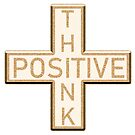 The Positive Mathematical sign says Think Positive by SiobhanFraser